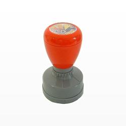 ゴム印・はんこ・スタンプ : 浸透印  ポンポンスタンパー 丸型