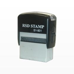 ゴム印 RSDスタンプ 1c0xS1x901.D