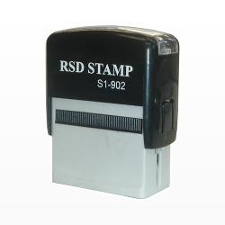 ゴム印 RSDスタンプ 1c0xS1x902.D
